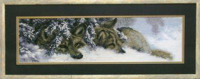 цена на 436 Волки в снегу чм (Чарiвна Мить, Чарiвна Мить)