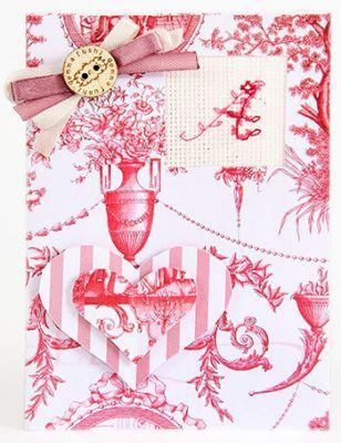 (S)P08 Набор для изготовления открытки (LucaS) (LucaS, LucaS) цены