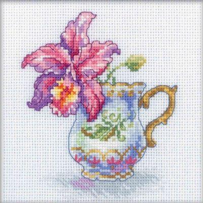 EH305 Чашка и орхидея (РТО, РТО) m612 моя чашка чая рто рто