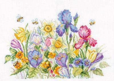 M095 Садовые цветы (РТО, РТО) m612 моя чашка чая рто рто