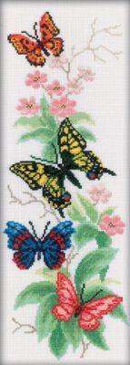 M146 Бабочки и цветы (РТО, РТО) acquanegra 44 m146