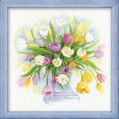 100008 Акварельные тюльпаны (Сотвори Сама, Сотвори Сама)
