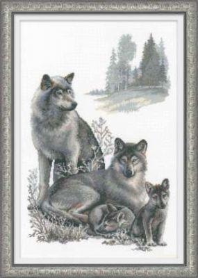 100021 Волки (Сотвори Сама, Сотвори Сама) набор для вышивания сотвори сама котёнок гав 462