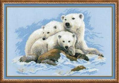 1033 Белые медведи (Сотвори Сама, Сотвори Сама) 1586 волшебное перо сотвори сама сотвори сама
