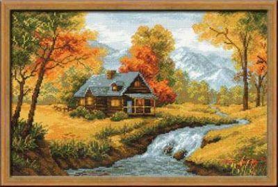 1079 Осенний пейзаж (Сотвори Сама, Сотвори Сама) 1569 сербский пейзаж сотвори сама сотвори сама