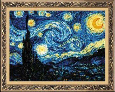 1088 Ван Гог Звёздная ночь (Сотвори Сама, Сотвори Сама) екатерина слинкина создатели сотвори меня снова