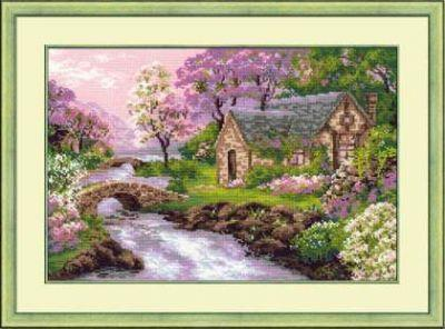 1098 Весенний пейзаж (Сотвори Сама, Сотвори Сама) 1569 сербский пейзаж сотвори сама сотвори сама