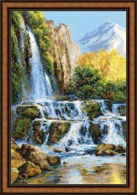 1194 Пейзаж с водопадом (Сотвори Сама, Сотвори Сама) 1569 сербский пейзаж сотвори сама сотвори сама