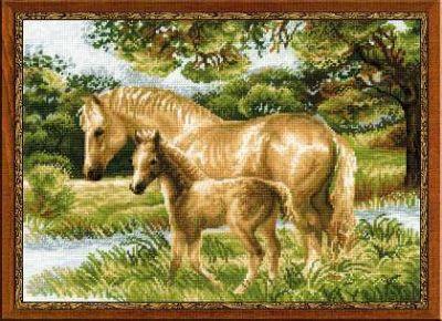 1258 Лошадь с жеребёнком (Сотвори Сама, Сотвори Сама) екатерина слинкина создатели сотвори меня снова