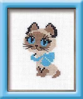 462 Котенок (Сотвори Сама, Сотвори Сама) набор для вышивания сотвори сама котёнок гав 462