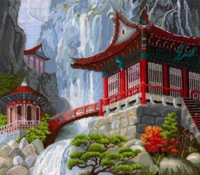 В12 Водопад и пагода (Сделай своими руками, Сделай своими руками) тушь с эффектом распахнутых ресниц isadora stretch lash mascara