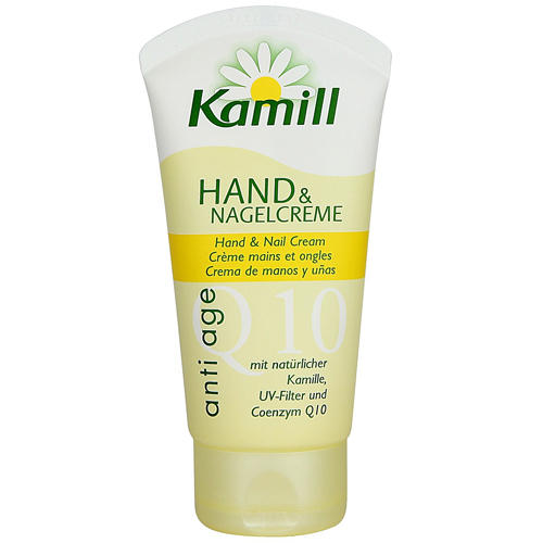 Крем для рук и ногтей Anti age Q10, 75 мл (Kamill, Для рук) витамины укрепляющие для сердца