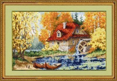 ЛП025 Старая мельница. Лирический пейзаж (Золотое Руно, Золотое Руно) лп033 лесной страж лирический пейзаж золотое руно золотое руно