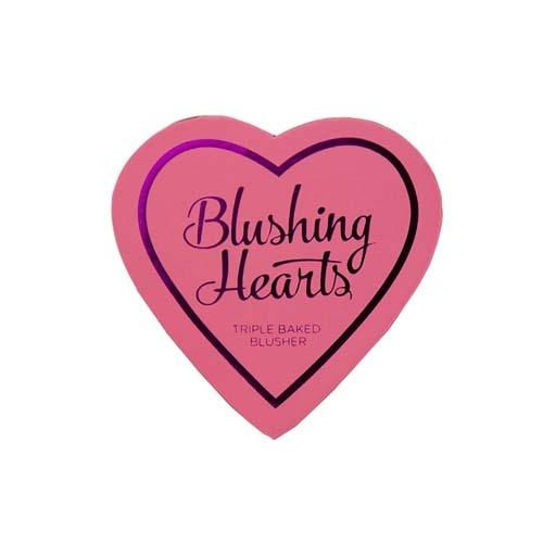 Румяна I Heart Makeup Blushing Hearts (Makeup Revolution, Лицо) бальзам для губ makeup revolution i heart makeup i heart my lips