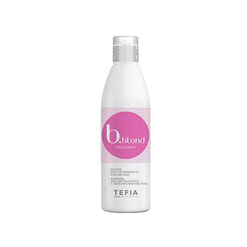 Фото - Tefia Бальзам для светлых волос c абиссинским маслом 250 мл (Tefia, Bblond) tefia bblond маска для светлых