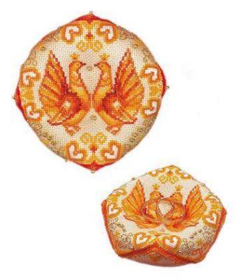 1474АС Подушечка для обручальных колец (Сотвори Сама, Сотвори Сама) lugana 264