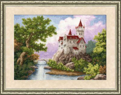 ЛП015 Замок. Лирический пейзаж (Золотое Руно, Золотое Руно) лп033 лесной страж лирический пейзаж золотое руно золотое руно