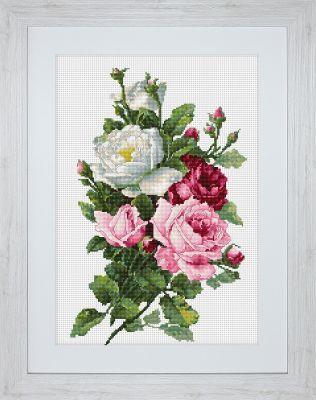 B2285 Букет из роз (LucaS) (LucaS, LucaS)