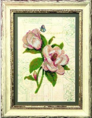 Б705 Южное вдохновение чм (Чарiвна Мить, Чарiвна Мить) канва с рисунком для вышивания бисером hobby