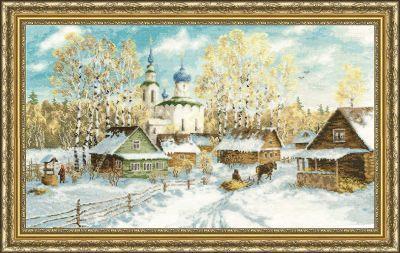 МД012 Деревенская зима. Моя деревня (Золотое Руно, Золотое Руно)