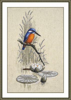 758 Зимородок (Овен) (Овен, Овен) набор для вышивания крестом зайчата овен 694