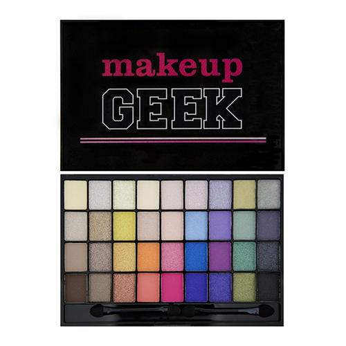 Палетка теней I Heart Makeup Slogan Palette MakeupGeek (Makeup Revolution, Глаза) slogan steps sticker