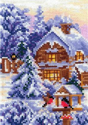 В21 Времена года. Зима (Сделай своими руками, Сделай своими руками) набор для вышивания крестом сделай своими руками времена года лето 10 х 15 см