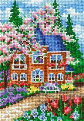 В20 Времена года. Весна (Сделай своими руками, Сделай своими руками) набор для вышивания крестом сделай своими руками времена года лето 10 х 15 см
