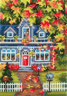 В23 Времена года. Осень (Сделай своими руками, Сделай своими руками) набор для вышивания крестом сделай своими руками времена года лето 10 х 15 см