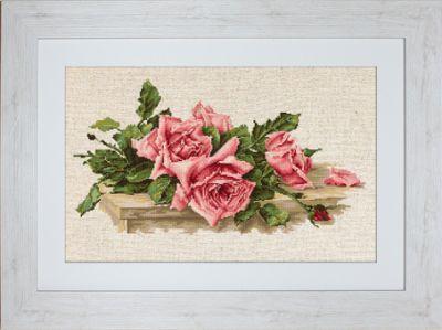 BL22400 Розовые розы (LucaS) (LucaS, LucaS)