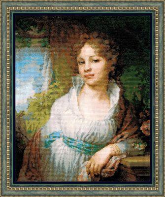 100048 Портрет М.И. Лопухиной (Сотвори Сама, Сотвори Сама) екатерина слинкина создатели сотвори меня снова