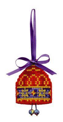 1540АС Новогодняя игрушка Колокольчик (Сотвори Сама, Сотвори Сама) екатерина слинкина создатели сотвори меня снова