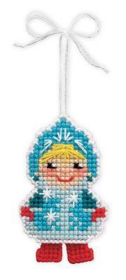 1539АС Новогодняя игрушка Снегурочка (Сотвори Сама, Сотвори Сама) 1032 полночь сотвори сама сотвори сама