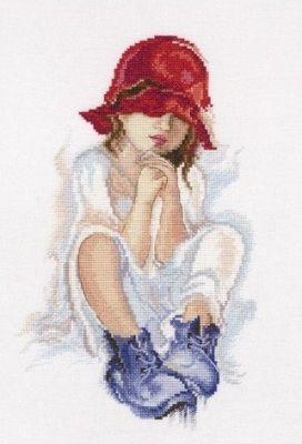 М556 Мечтающая девочка (РТО, РТО) m612 моя чашка чая рто рто