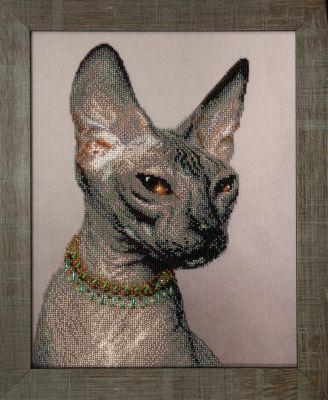Б738 Сфинкс чм (Чарiвна Мить, Чарiвна Мить) канва с рисунком для вышивания бисером hobby
