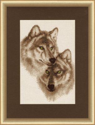 ДЖ037 Влюбленные волки. Дикие животные (Золотое Руно, Золотое Руно)