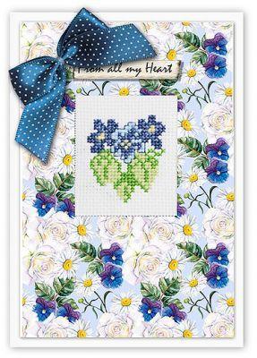 (S)P42 Набор для изготовления открытки (LucaS) (, )