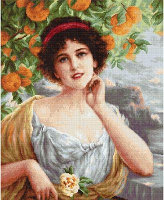 B0546 Красавица под апельсиновым деревом (LucaS) (LucaS, LucaS)