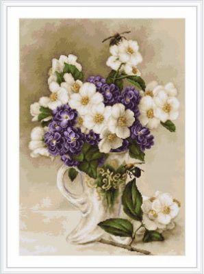 B0512 Цветы жасмина (LucaS) (LucaS, LucaS)