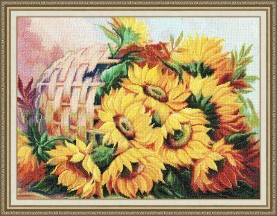 Т010 Цветы солнца 2 (Золотое Руно, Золотое Руно) цены