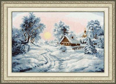 ЛП046 Зимнее утро. Лирический пейзаж (Золотое Руно, Золотое Руно) лп033 лесной страж лирический пейзаж золотое руно золотое руно