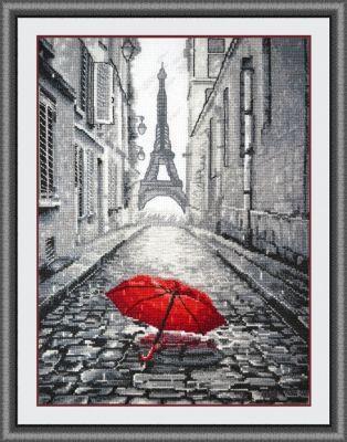 868 В Париже дождь (Овен) (Овен, Овен) набор для вышивания крестом зайчата овен 694