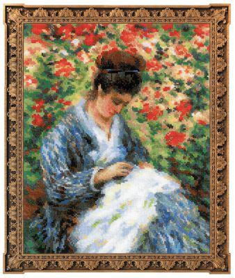 100051 Мадам Моне за вышивкой (Сотвори Сама, Сотвори Сама) екатерина слинкина создатели сотвори меня снова