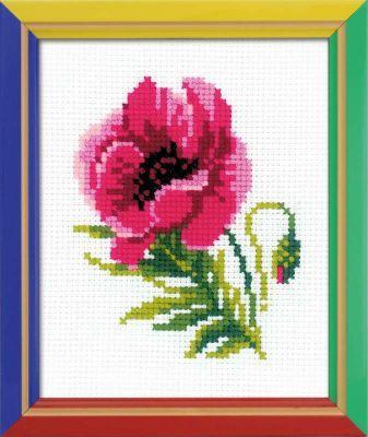 НВ134 Розовый мак (Сотвори Сама, Сотвори Сама) набор для бисероплетения сотвори сама браслет