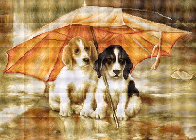 цены B0550 Двое под зонтом (LucaS) (LucaS, LucaS)