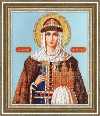 РТ127 Икона Святой Равноапостольной Княгини Ольги. Рисунок на ткани (Золотое Руно, Золотое Руно)
