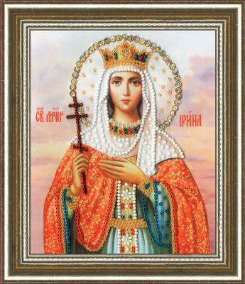 РТ130 Икона Святой Мученицы Ирины. Рисунок на ткани (Золотое Руно, Золотое Руно)