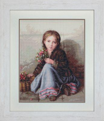 G513 Портрет девочки (LucaS) (LucaS, LucaS) рёр хайдрун рёр ханс новогодние украшения из бисера