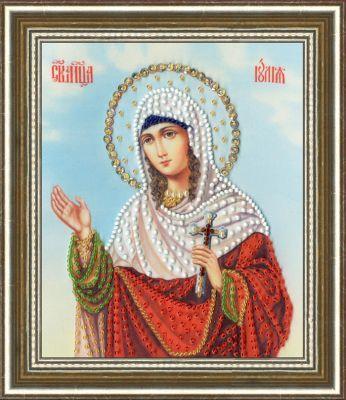 РТ139 Икона Святой Мученицы Юлии. Рисунок на ткани (Золотое Руно, Золотое Руно)