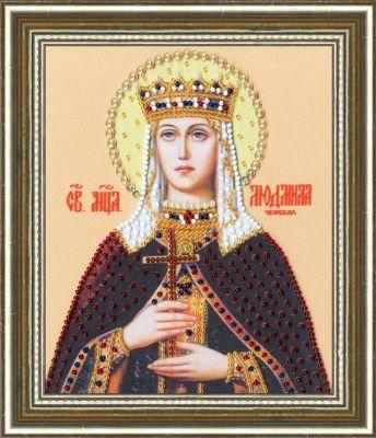 РТ144 Икона Святой Мученицы Людмилы Чешской (Золотое Руно, Золотое Руно)